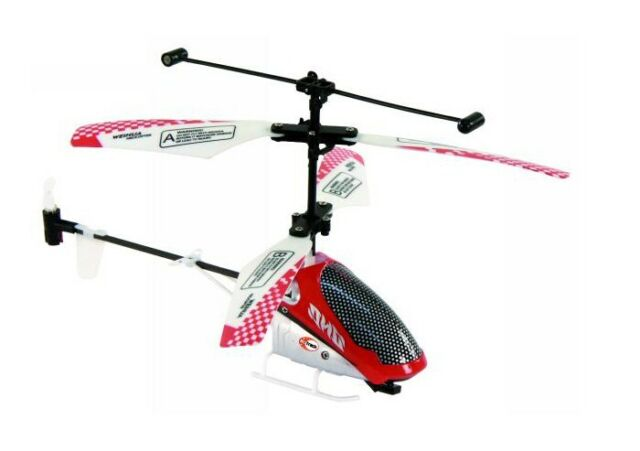 RC-Helicopter 3D-Control 15,5 cm Rumpf Hubschrauber 3-Kanal McTrack Star-Fly