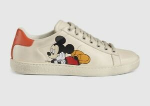 Gucci-x-Disney-Mickey-Mouse-Ace-Sneakers-Women-039-s-size-38-USA-Size-8