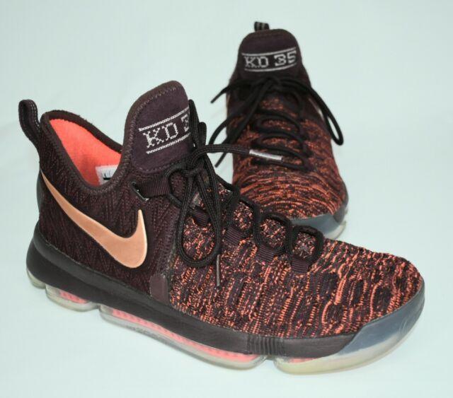 73fa1ab174f5e Nike Mens KD 9 IX Xmas Sauce Bronze Basketball Shoes Size 9M Style 852409  696