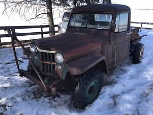 1953 Willys Pickup Project *SOLD PPU*