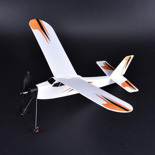 foam aircraft rubber band power body glider fighter aircraft assembly mode SL