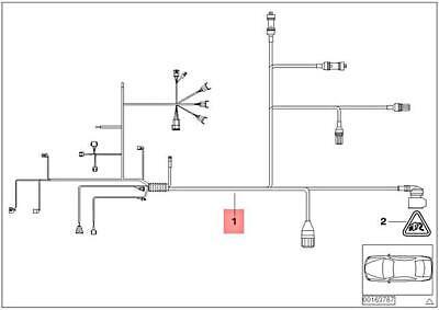 [SCHEMATICS_48EU]  Genuine BMW E82 E88 E90 E91 Wiring Harness Engine Gearbox Module  12517566510 | eBay | E88 Wiring Diagrams |  | eBay