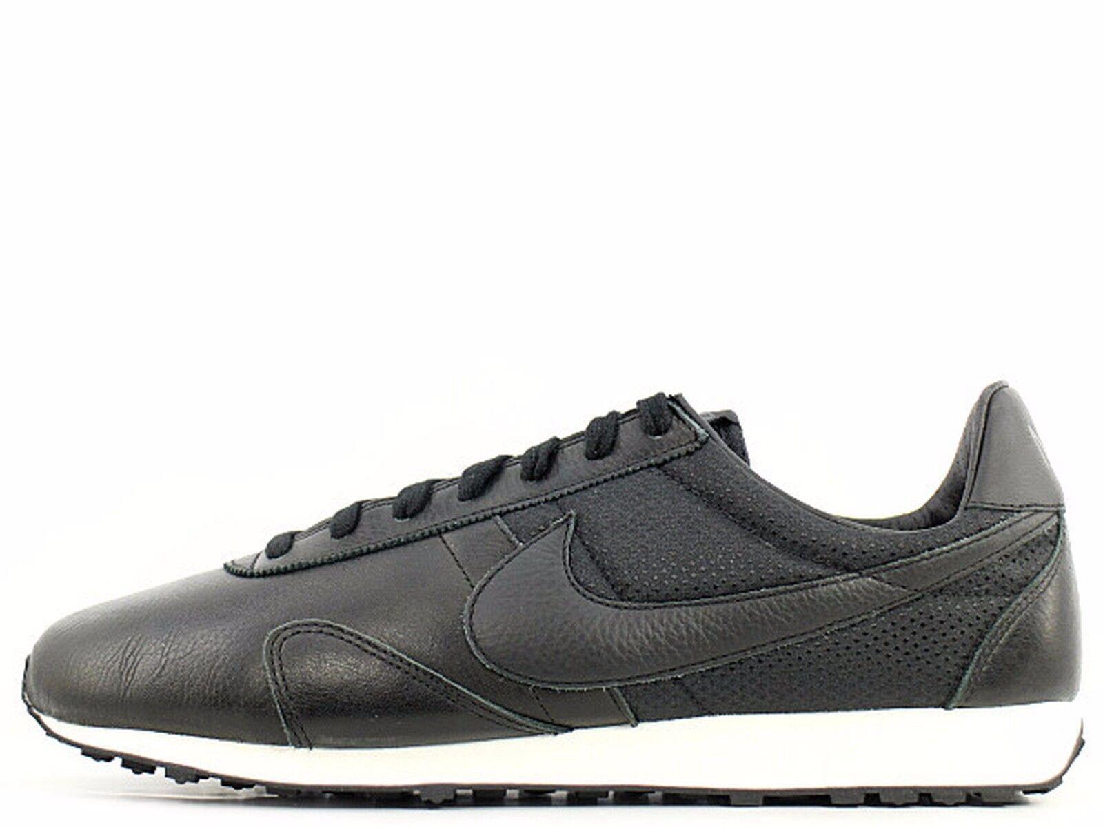 Nike Pre Montreal Racer Pinnacle Black Sail Wmn Sz 8.5 839605-003 Leather
