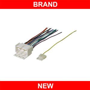 gm car stereo cd player wiring harness aftermarket radio adapter rh ebay com Car Stereo Wiring Harness Adapters GM Wiring Harness Replacement