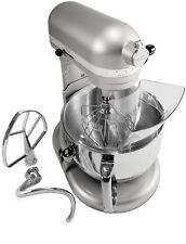 KitchenAid RKP26M1Xnp Pro 600 Stand Mixer 6 qt Nickel Pearl BIG Large Capacity