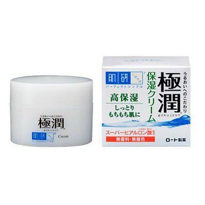 Rohto Hadalabo Gokujyun Hyaluronic acid Moisturizing cream 50g Free shipping