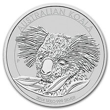 2014 1 Kilo Silver Australian Koala Coin - Brilliant Uncirculated - SKU #78110