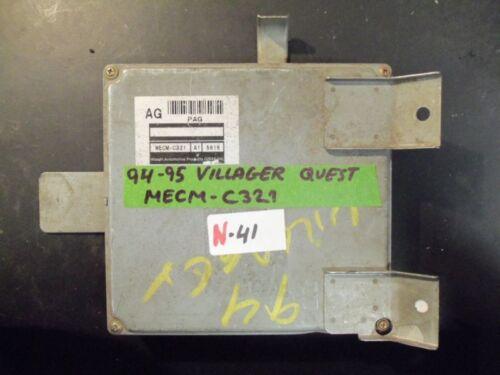 VILLAGER ECM N-041 MECM-C321 ^^ 1994 1995 94 95 NISSAN QUEST