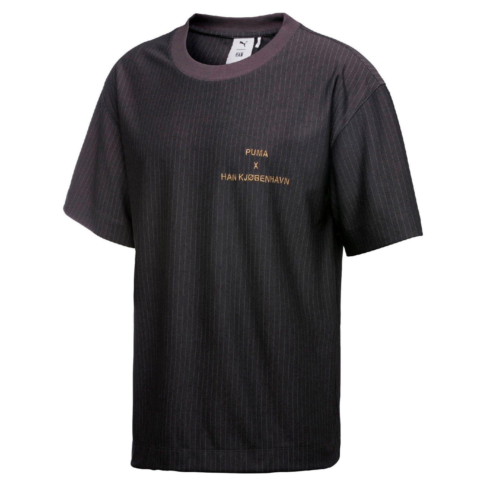 PUMA x HAN KJØBENHAVN Pinstripe T-Shirt size XXL BRAND NEW