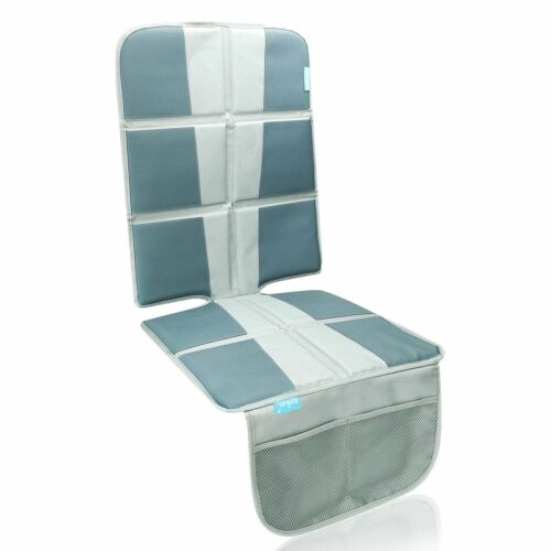 Grey OPEN BOX Car Seat Protector Under Baby Extra Padded for XL Size Car