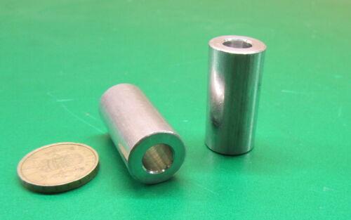 "2 Units Aluminum Spacer 3//8/"" Screw 3//4/"" OD x .380/"" ID x 1 1//2/"" Length NO"