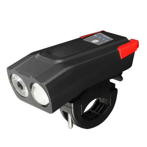 USB Rechargeable LED Bicycle Headlight Smart Induction MTB Road Bike Front Lamp