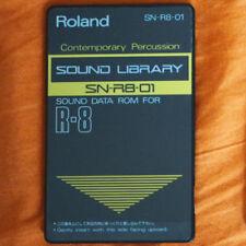 Roland R-8 Sound Data Card SN-R8-01 CONTEMPORARY PERCUSSION (Latin Sounds)