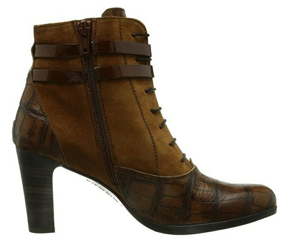 HISPANITAS braun LEATHER StiefelIE Stiefel Stiefel Stiefel NILO EU 42 US Größe 12 554e82