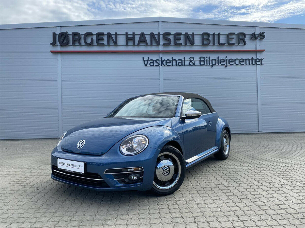 VW The Beetle 1,2 TSi 105 Life Cabriolet 2d - 279.900 kr.