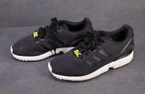 SB341 Adidas ZX Flux Damen Sneaker Gr. 38,5 schwarz Mesh Laufschuhe Low-Top