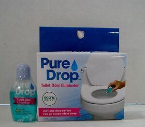 Pure Drop Toilet Odor Eliminator Fl Oz All Natural Really - Bathroom odor eliminator