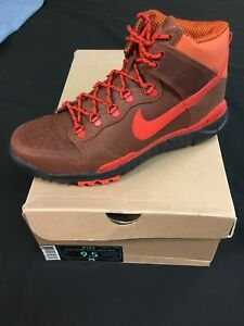 newest 09845 7c01e Details about NIKE SB Skate Shoes Dunk High OMS PRM STUSSY Field Brown, 9.5