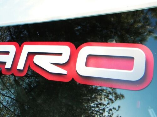 Camaro windshield decal sticker Chevy Chevrolet IROC F body Z28 SS 5.7 LS3 LT1