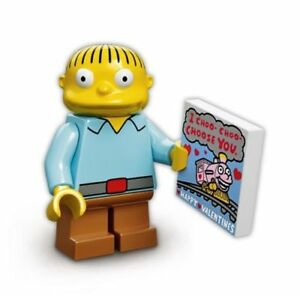 Genuine LEGO 71005-2 minifigures BN Milhouse series 1 cartoon
