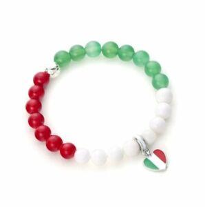Länder Armband Flaggen Flag Schmuck Deutschland Italien Portugal Frankreich Sp