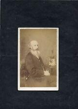 C1890's CDV. Portrait Photo of a Man Sitting.