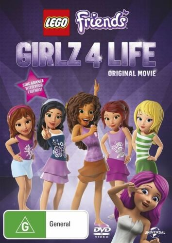 1 of 1 - Lego Friends Girlz 4 Life DVD [Original Movie] [Regions 2,4] *FREE AUST. POST*