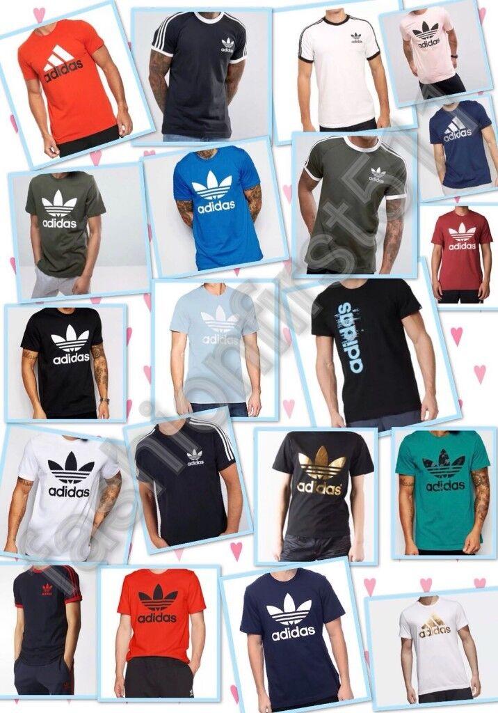 Adidas Originals Herren California Retro Essentials Kurzarm-T-Shirt mit Rundhalsausschnitt