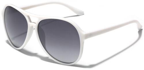 Retro 80/'s Fashion Aviator Sunglasses Vintage Men/'s Women/'s Glasses Black White