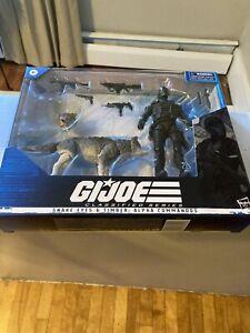 GI Joe Classified SNAKE EYES & TIMBER Alpha Commandos Figure In Hand