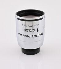 Nikon Macro Plan Apo 1x005 For Eclipse E800m And E1000m Rare