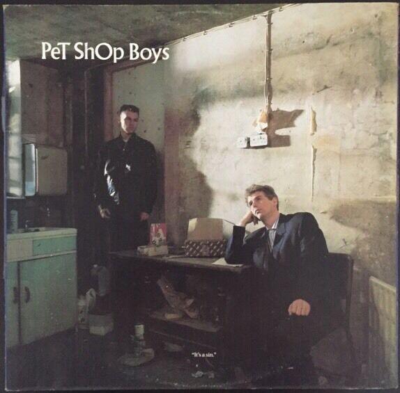 Pet Shop Boys Its A Sin Rare Import Maxi 12
