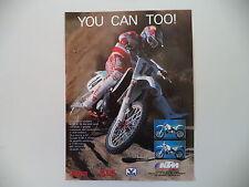 advertising Pubblicità 1991 MOTO KTM 250/300