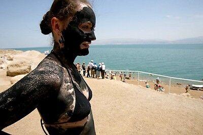 11oz 300gr DEAD SEA BLACK MUD Minerals Rich Skin Body Face Joint Anti Aging Mask