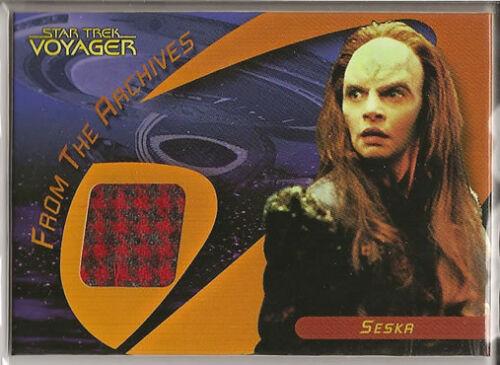 Star Trek 40th Anniversary Costume Card C14 Seska