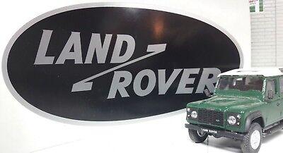 Etiqueta Calcomanía Trasera Insignia piezas MXC6401 REPRO Land Rover Defender 90 110 1987 />