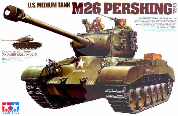 Tamiya 1 35 scale M26 Pershing tank model kit