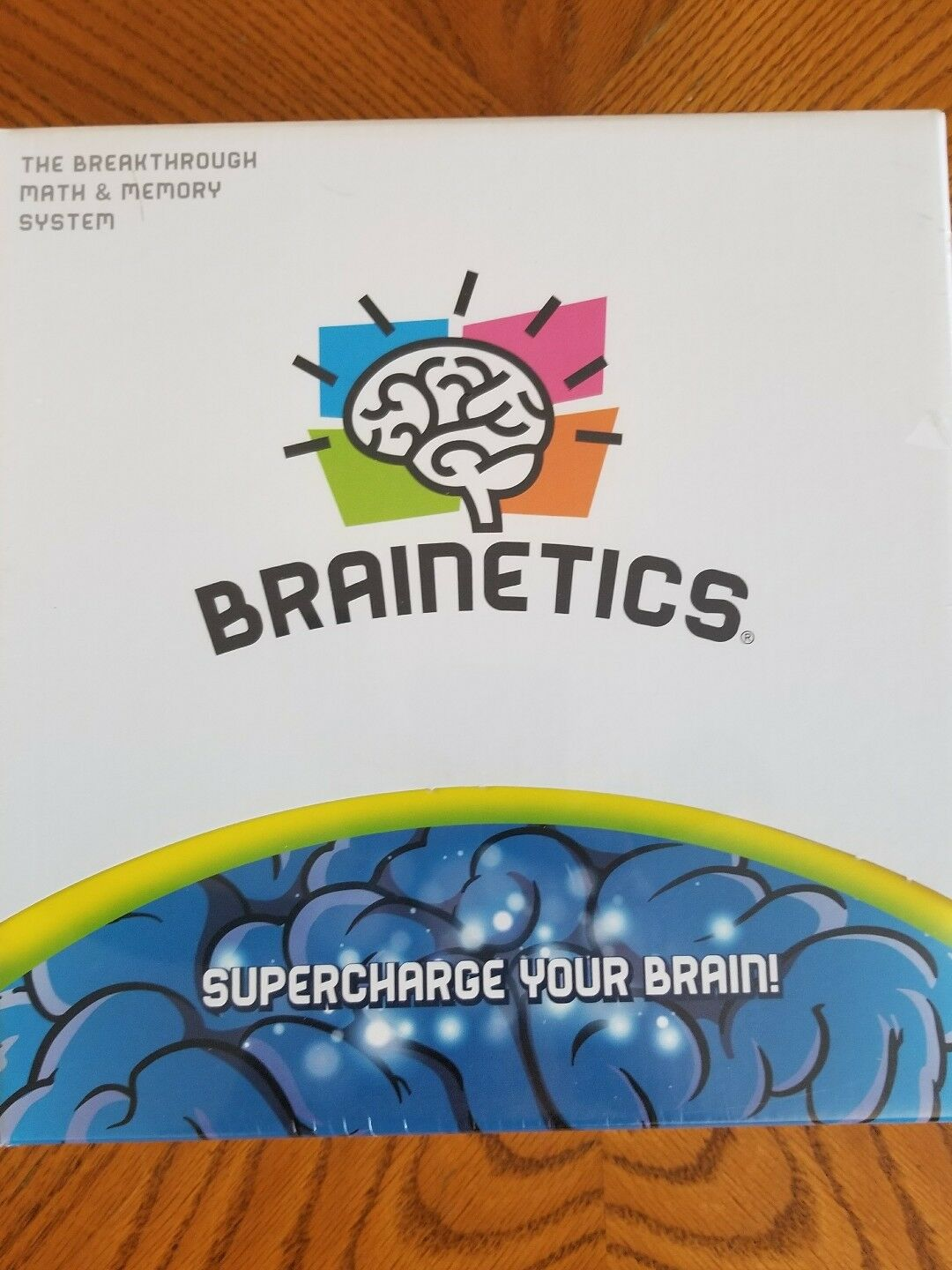 BRAINETICS The Breakthrough Math & Memory System Supercharge Your Brain