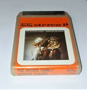 Mc-Stereo-8-THE-RITCHIE-FAMILY-African-Queens-NUOVO-1977-musicassetta