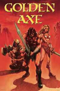12x18 Golden Axe Red Sega Genesis Classic Video Game Poster 12x18 Inch Poster