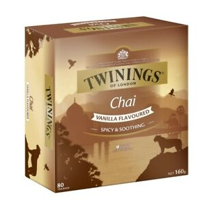 Twining's Vanilla Chai Tea Bags 80 pack