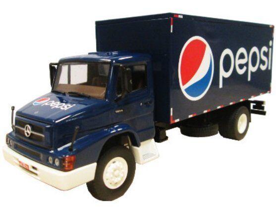 Classique de camions du Brésil-Mercedes Benz L 1614-Pepsi camion-IXO ALTAYA