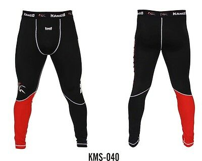 MMA THAI MUAY COMPRESSION TROUSERS PANTS BOTTOMS UFC RASH GUARD BOXING FIGHT GYM