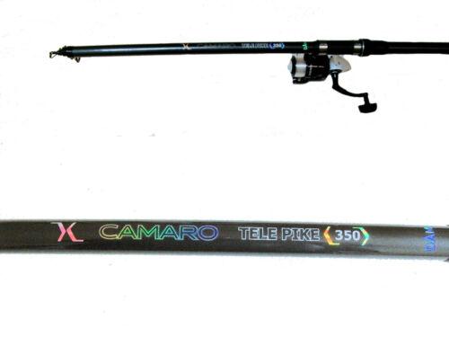 DAM Camaro 350 cm Hechtrute 80//150 mit DAM Rolle und 0,35 mm Schnur