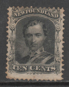 Newfoundland-Mail-Yvert-23-or-Character