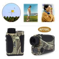 6x700 Yd Waterproof Hunting Laser Rangefinder Distance Speed Measurer Meter A02