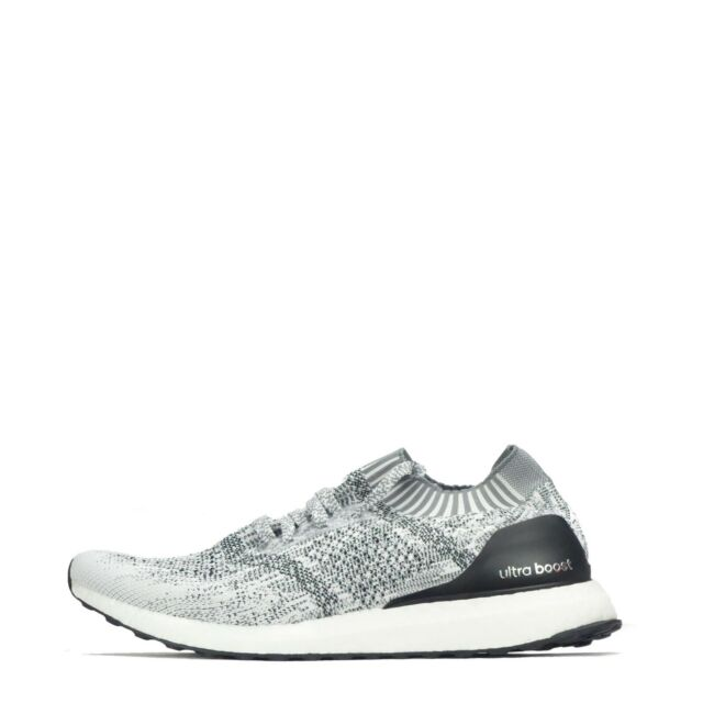 761175e7abfa2 adidas Ultraboost Uncaged Primeknit White Black Oreo Men Running ...