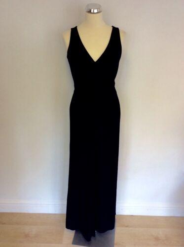Long Dress Hobbs Dark Blue Stretch Size 10 Maxi qvvtAOxwn