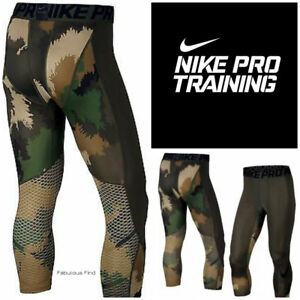 d507ca5853 Details about NIKE PRO Mens Compression Training Spandex Tights Base Layer  HYPERCOOL/HYPERWARM