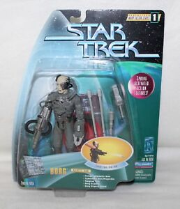 1997-Playmates-STAR-TREK-Warp-Factor-Series-1-034-BORG-034-Action-Figure-IOP